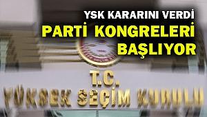 CHP ve Ak Partide yeniden kongre heyecanı başlıyor