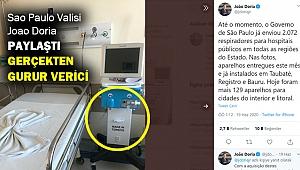Çin'den solunum cihazı tedarik edemeyen Brezilya Türkiye'ye yöneldi