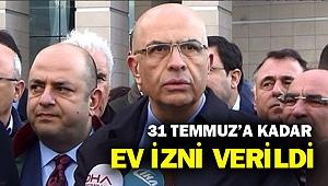 Dün tutuklanan Enis Berberoğlu ev iznine gönderildi...