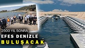 Efes'i denizle buluşturacak kanal için sürpriz gelişme