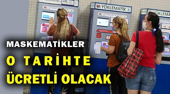 İzmir Büyükşehir'in maskematikleri ile ilgili önemli gelişme...