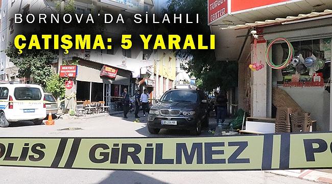 İzmir'de iki grup arasında silahlı kavga: 5 yaralı