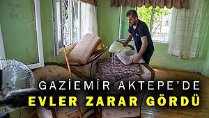 İzmir'de sağanak yağış; Gaziemir ve Karabağlar'da hasar var