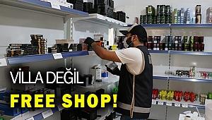 İzmir'de villada kaçak elektronik sigara likidi ele geçirildi