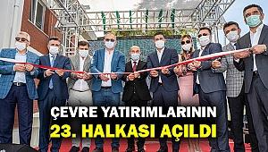 İzmir'in 23'üncü ileri biyolojik arıtma tesisi Foça Gerenköy'de açıldı