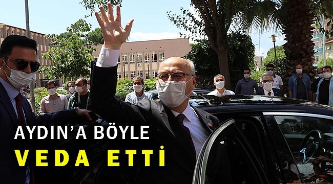İzmir'in yeni valisi Yavuz Selim Köşger göreve başladı