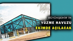 İzmir'in yeni yüzme havuzu Ekim'de açılıyor