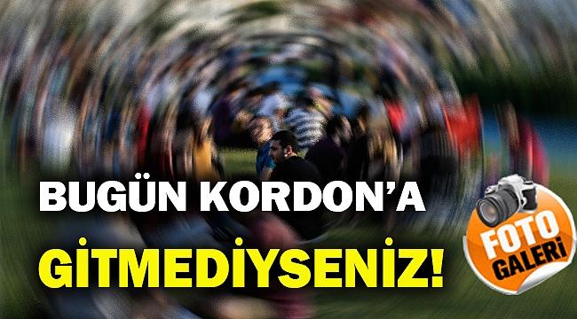 İzmir Kordon bugün nasıldı dersiniz!