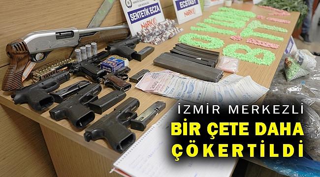 İzmir merkezli 5 ilde suç örgütüne yönelik operasyonda 81 şüpheli yakalandı