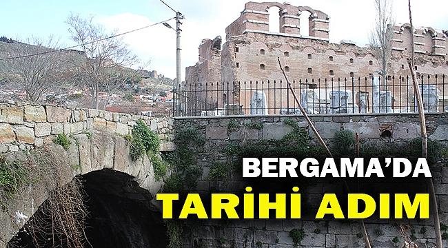 İzmir Valiliği Bergama için kesenin ağzını açtı... Selinos'un restorasyonu başlıyor...