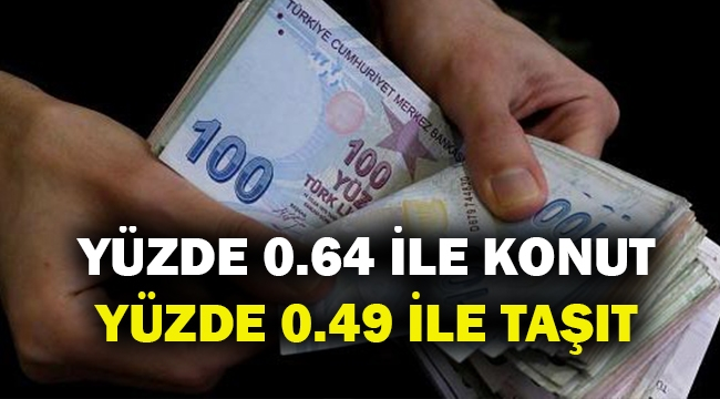 Kamu bankalarından 4 yeni kredi destek paketi... Yüzde 0.64 ile konut kredisi...