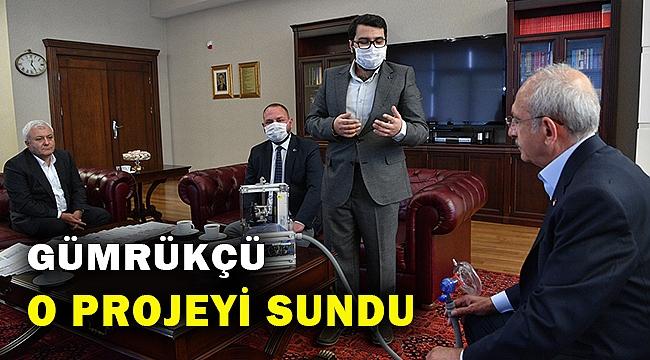 Kılıçdaroğlu, Başkan Gümrükçü'yü kabul etti