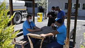 Konak Fen işleri işçiler için yenilendi