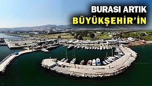 Levent Marina artık İzmir Büyükşehir'in...