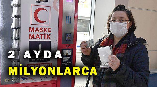 Maskematiklerden İzmirliye kaç maske dağıtıldı... İşte o rakam...