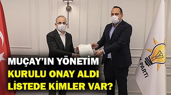 Muçay'ın yönetimi onay aldı... Ak Parti Gaziemir ilçe yönetiminde kimler var?