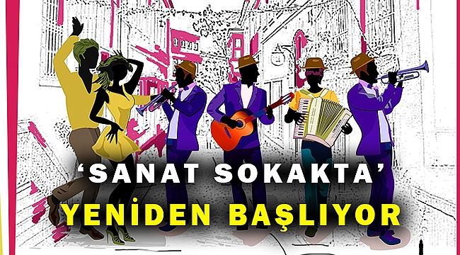 Sanat İzmir sokaklarında yeniden başlıyor