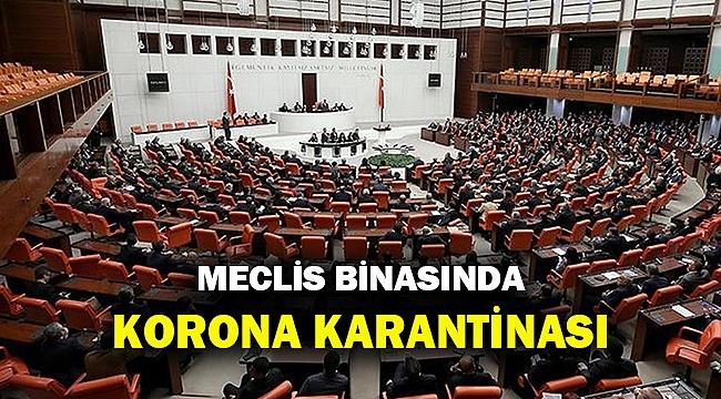 Son Dakika... Korona Meclis'e de sıçradı...