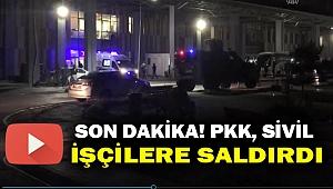Son Dakika! PKK yol işçilerine saldırdı: 2 şehit 8 yaralı...