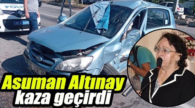 Torbalı siyasetini üzen kaza... Altınay yaralı, ablası hayatını kaybetti...