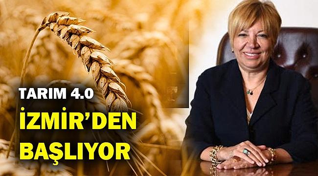 Türkiye'nin ilk Tarım 4.0'ı İzmir'de Hayata Geçiyor