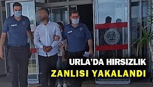 Urla'da hırsızlık zanlısı tutuklandı