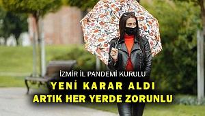 Vali Köşger'den açıklama: Artık İzmir genelinde zorunlu!