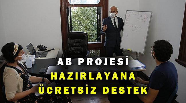 AB projesi yazana danışmanlık desteği