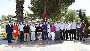 Başkan Batur'dan muhtarlara: Siz bizim gücümüzsünüz