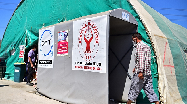 Bornova'da Kurban alanında önlemler tamam