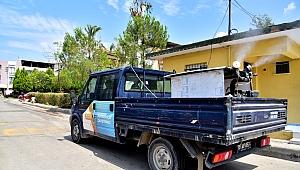 Bornova genelinde ilaçlama seferberliği