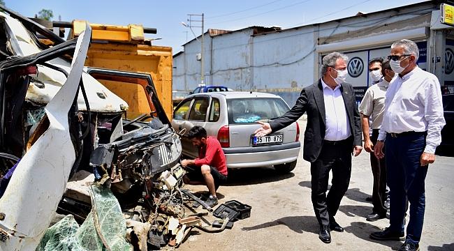 Bornova Pınarbaşı'ndaki 5. Sanayi sitesine 'Anjiyo'