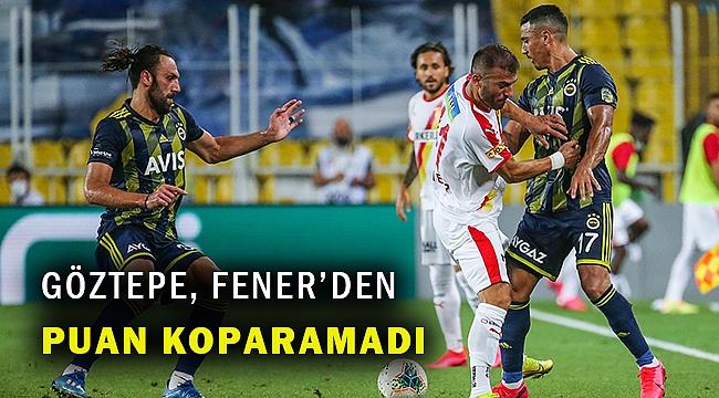 Fenerbahçe, sahasındaGöztepe'yi 2-1 mağlup etti