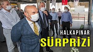 Halkapınar Metro İstasyonunda İzmirlileri bir sürpriz bekliyor