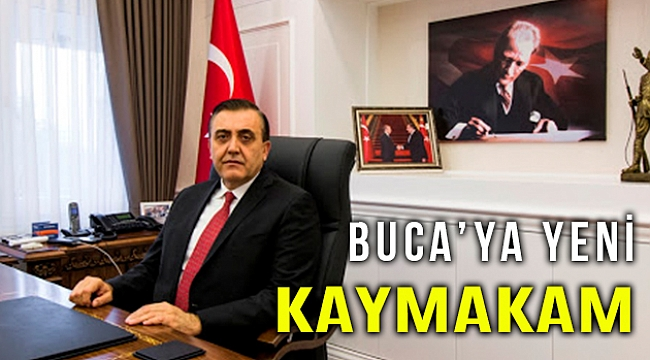 İzmir Buca'ya yeni kaymakam