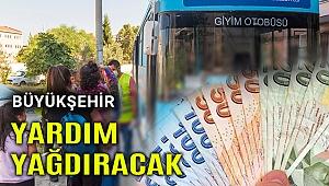 İzmir Büyükşehir, bayramdan önce yardım yağdıracak
