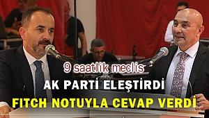 İzmir Büyükşehir'in faaliyet raporu oy çokluğuyla geçti