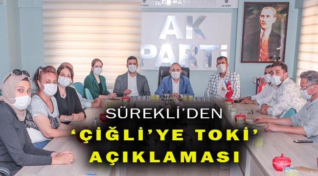 İzmir Çiğli'ye TOKİ projesi geliyor