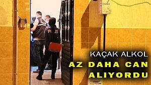 İzmir'de kaçak alkol içen kişi hastaneye kaldırıldı