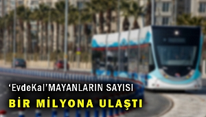 İzmir'de toplu ulaşım araçlarına günlük biniş sayısı 1 milyona ulaştı