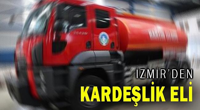 İzmir'den Ardahan ve Besni'ye araç desteği