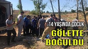 İzmir Torbalı'da gölete düşen çocuk boğuldu