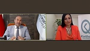 KalDer İzmir Şubesi, Webinar Serisiyle Ekonomi ve Gündemin Nabzını Tuttu