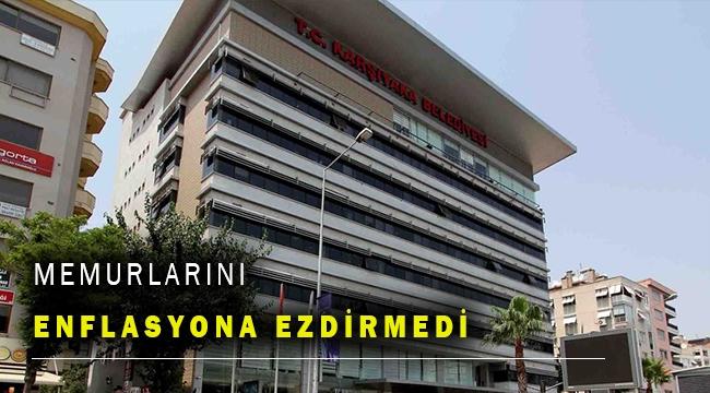 Karşıyaka Belediyesi'nden memur maaşlarına zam