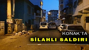 Konak'ta silahlı saldırı: 1 ölü, 2 yaralı