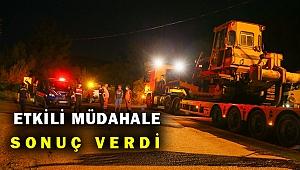 Menderes'te orman yangını... 60 arazöz, 5 dozer, 18 su tankeri, 200 personel müdahale etti