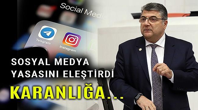 Milletvekili Sındır: AKP karanlığa doğru hiç olmadığı kadar büyük bir adım attı!
