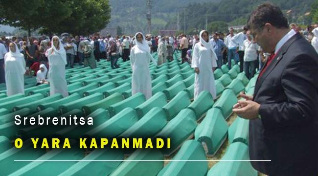Milletvekili Sındır: Srebrenitsa'daki yara kapanmadı, kapanmayacak!