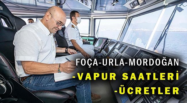 Mordoğan, Foça ve Urla gemi seferleri başladı