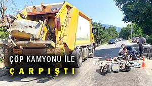 Ödemiş'teki trafik kazasında 1 kişi ağır yaralandı